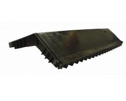 Аэратор коньковый для мягкой черепицы 290х610 мм