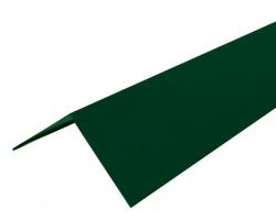М.черепица Конек прямоугольный зеленый (RR 11) 2 м
