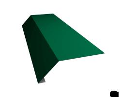 М.черепица Карнизная планка зеленая (RR 11) 2 м