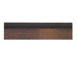 Шинглас Конек-карниз коричневый 250х1000 мм