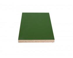 Зеленая ламинированная фанера толщиной 24мм размером 2500х1250, сорт 1/1