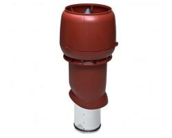 Выход системы вентиляции утепленный 125/160/500 коричневый